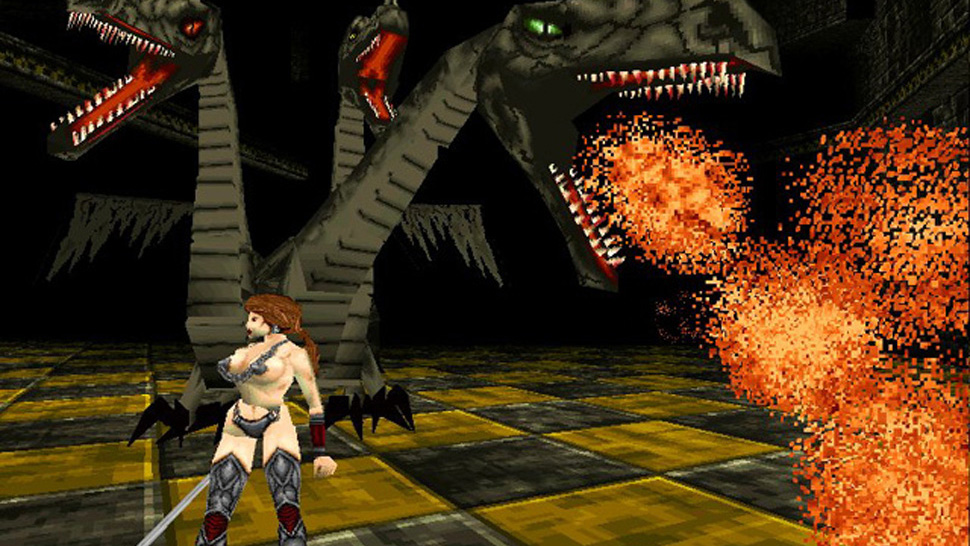 Playstation: deathtrap dungeon