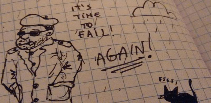 Edilberto, fallire ancora