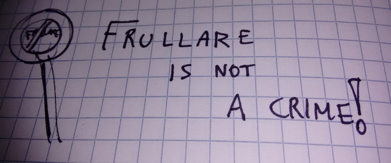 Frullare is not a crime