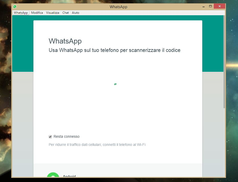 WhatsApp su Windows