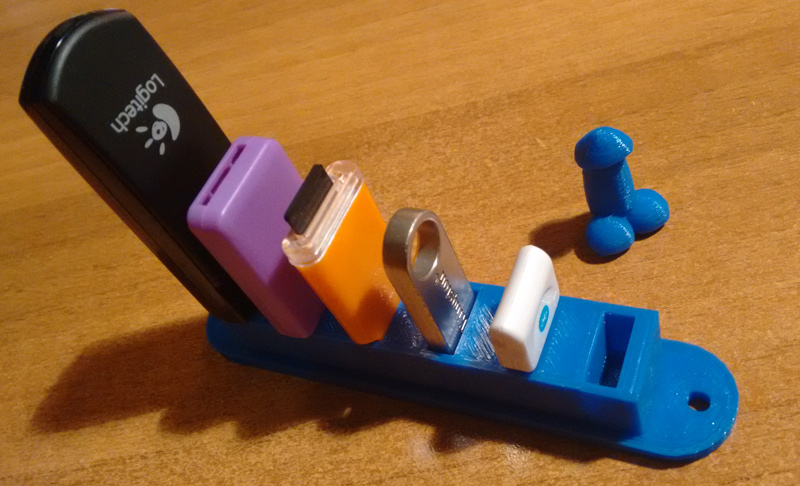 Porta chiavette USB 3D
