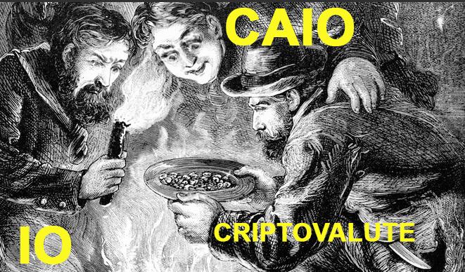 Caio è ossessionato dalle critpovalute e dal minare bitcoin ecc