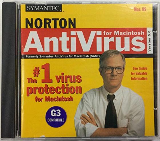 Norton antivirus cd per Mac OS