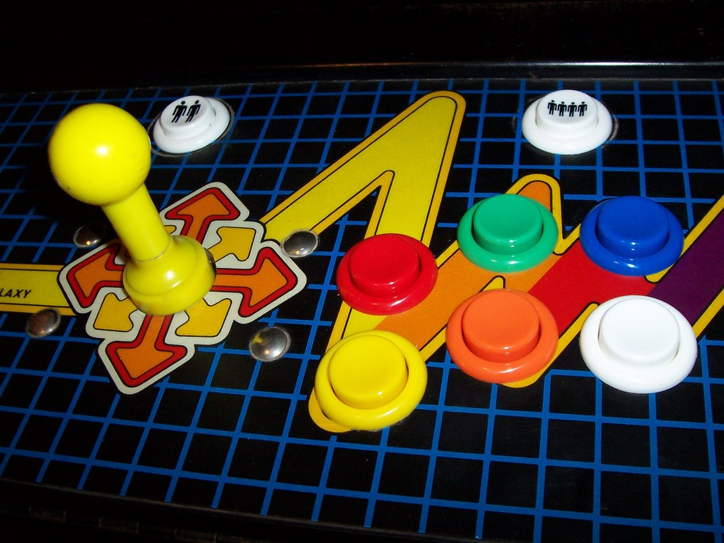 arcade stick cabinato