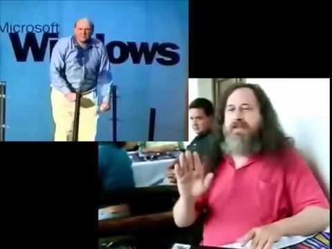 Stallman e Ballmer si strusciano