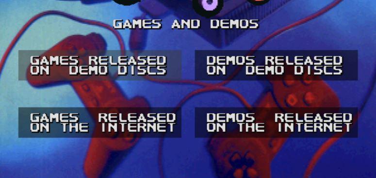 schermata iniziale net yaroze iso