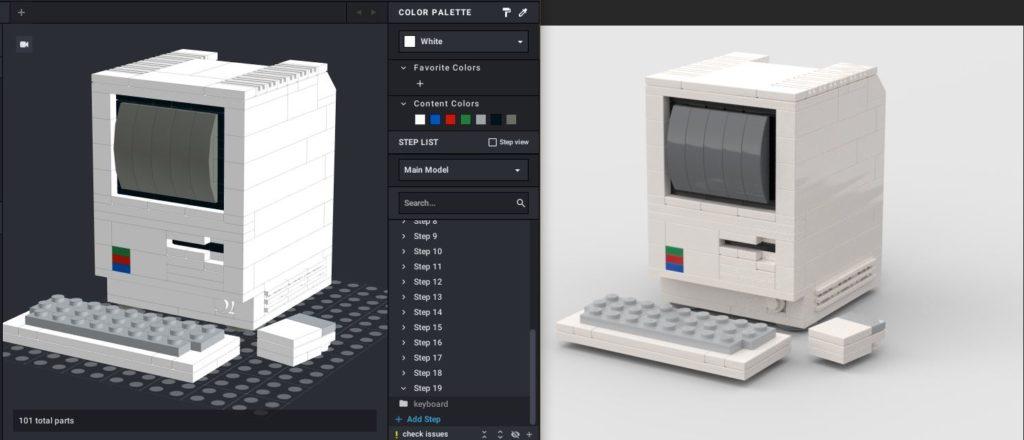 Lego render MAC programma per costruire Lego 3D